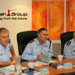 Israel Police Lighthouse Project with Police Commissioner Danino