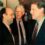 Al-Gore, former U.S Vice President & Yoram Yahav