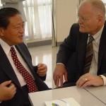 Earl J.S.Hoe, President Tung Ho Steel & Lester Thurow