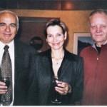 Israel Makov, former CEO of TEVA, Annie Thurow & Lester Thurow