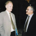 Lester Thurow & Yair Shamir, head of IAI Board of Directors