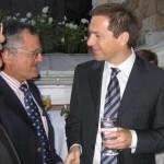 G. Banjai, Prime Minister of Hungary & Prof. Shlomo Maital