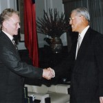Lee Teng-hui, President of Taiwan & Lester Thurow