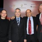 Gil Schweid, CEO Checkpoint Erez Vigodman, CEO TEVA  Dominic Barton, Global Managing Partner, McKinsey